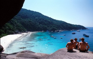 Donald Duck Bay - Dive Similan with Colona Liveaboards Thailand