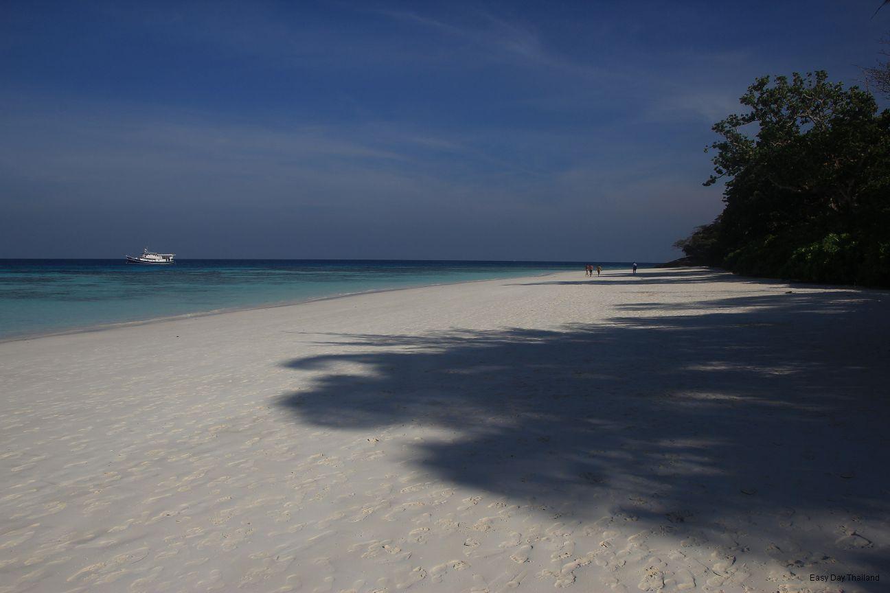 The Beach at Tachai Island