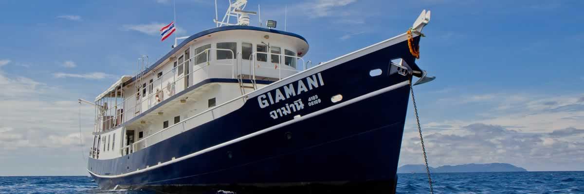 MV Giamani - View Bow