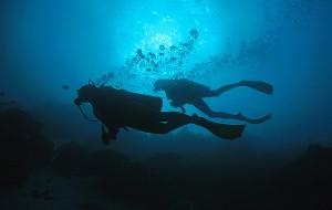 Morning Dive during a RAID Explorer 30 Dive Course