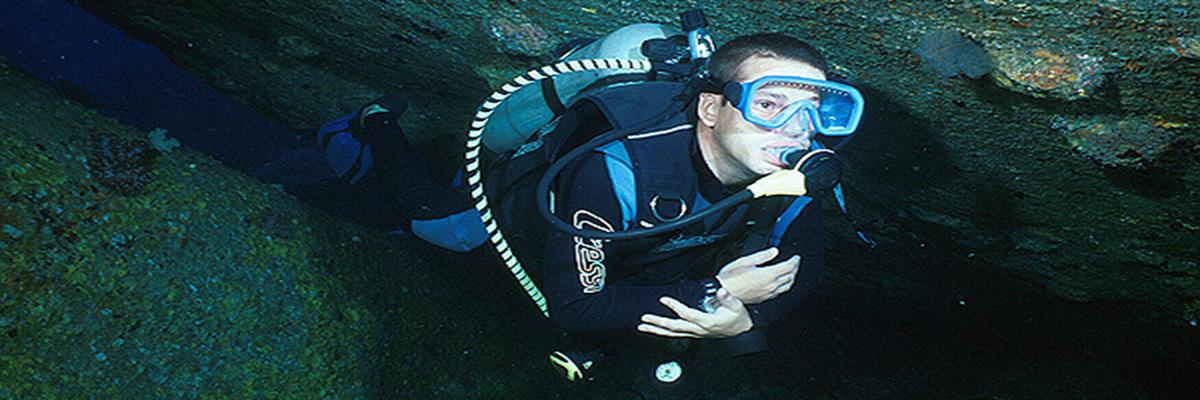 Diver at Elephant Head Rock